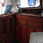 Bootsmöbel - Mahagoni aufgearbeitet